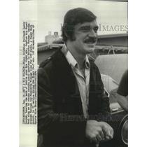 1974 Press Photo Miami Dolphins fullback Larry Csonka - spx14132