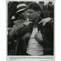 1975 Press Photo James Coburn, Charles Bronson star in Hard Times - lfx02963