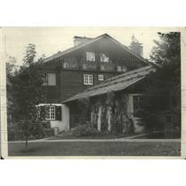 1929 Press Photo Chalet on Hayden Lake, Idaho - spx13129