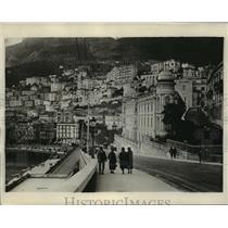 1926 Press Photo View of Monte Carlo Monaco - mjx22865