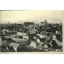 1914 Press Photo A general view of Colmar- Headquarters of German Army