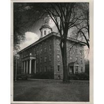 1853 Press Photo Main Hall at Appleton's Lawrence College - mja48023