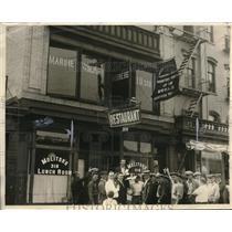 1923 Press Photo Red Union flag upsets locals - nec63169
