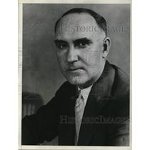 1933 Press Photo Dr. Floyd W. Reeves in Washington, DC - ned37400