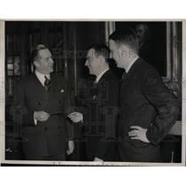 1938 Press Photo Samuel Monroe Van Sant, Jr. Wins $100,000 In Old Gold Contest