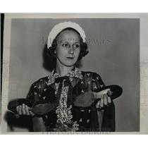 1938 Press Photo Mary Ann Reed at Senate Civil Liberties Hearing, Washington