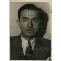 1933 Press Photo Herman Cherry Federal Prisoner surrendered in San Francisco