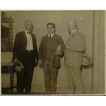 1922 Press Photo W.A. Slasgow, John L. Lewis, T.K. Maher - nef38964