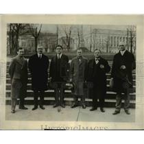 1925 Press Photo Anthracite Miners Committee at Pennsylvania Capital, Harrisburg