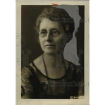1927 Press Photo Mrs. J. W. Ellins, State Chairman Living Costs Committee, Ohio
