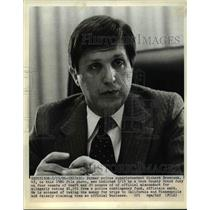 1968 Press Photo Richard Brzeczek Indicted in Cook County for Police Misconduct