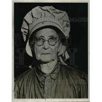 1932 Press Photo Mrs Elizy A Tucker, or Aunt Addie. - nef41666