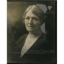 1924 Press Photo Sally Lucas Jean of American Child Health Association