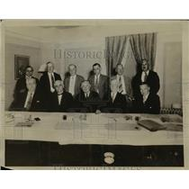 1931 Press Photo American Federation Labor AFL Executive Council, Atlantic City