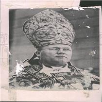 1921 Press Photo Archbishop Dennis Chicago American - RRY25365