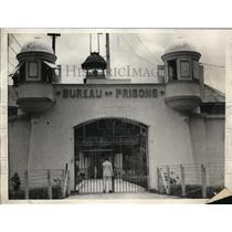 1927 Press Photo Main Entrance of Group of Buildings at Bilibid Prison