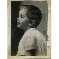 1923 Press Photo Patricia Mountbatten is Called the Richest Baby in the World