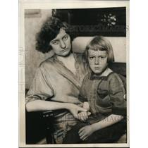 1923 Press Photo Mrs. Ray G. Piper & Son Says She Bought for $350, Cincinnati