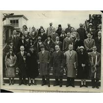 1930 Press Photo Child Health & Protection committee Members in Washington, D.C.