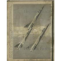 1974 Press Photo French Countryside Mirage F1 Mach 2.2 - RRY36909