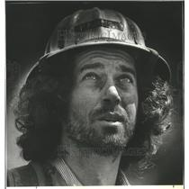 1982 Press Photo Ed Faren, a forest worker from Eugene, to be given jobs