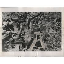 1939 Press Photo Air View of Amsterdam, Holland (Netherlands) - nef56718