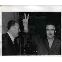 1969 Press Photo Socialist Parliament member Loris Fortune & Liberal A Dasilini