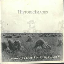1926 Press Photo Oat Farm Fields Goodland Kansas - RRY30361