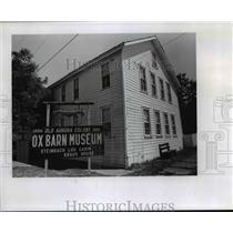 1978 Press Photo Ox Barn Museum in the history-rich town of Aurora - orb82861