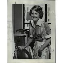 1976 Press Photo Linda Pellow spent last summer in Portland Hilton housekeeping