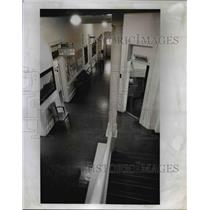 1978 Press Photo Old but sparkling halls of the courthouse of the county