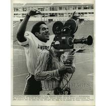1963 Press Photo Buffalo Bills OJ Simpson at NFC-AFC Pro Bowl in Dallas