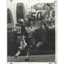 1968 Press Photo Saints Bob Bryant makes field goal after interception.
