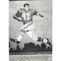 1969 Press Photo Tom Matte of Baltimore Colts, Football - spx14239