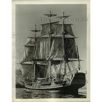 1964 Press Photo HMS Bounty for the film Mutiny on the Bounty - lfx01787