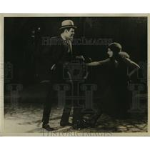 "1921 Press Photo Actor Ralph Graves, Carol Dempster in ""Dream Street"""