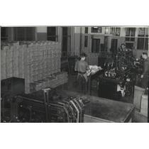 1936 Press Photo Spokesman Review Mailing Room - spx15178