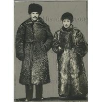 1930 Press Photo Mrs. and Mr. Larry Williams of Rolla, North Dakota - mjx23505