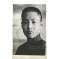 1936 Press Photo Descendant of Confucius Kung Teh-Chen - mjx23385