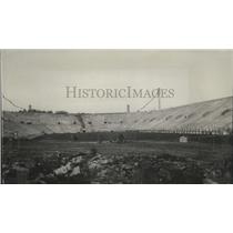 1914 Press Photo Palmer Memorial Stadium for Dartmouth-Princeton game