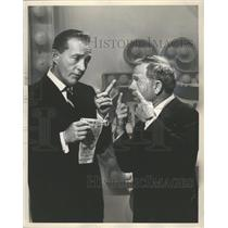 """1964 Press Photo Bring Crosby and Mickey Rooney in """"The Hollywood Palace"""""""