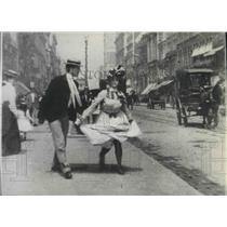 "1944 Press Photo Edison Short film ""What happened on 23rd Street, New York"" 1901"