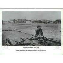 1938 Press Photo Wheeler, Montana - spx15805