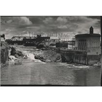 1948 Press Photo Dam Construction - spx15472