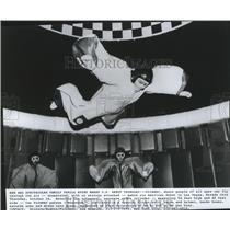 1987 Press Photo Flyaway- makes its American debut in Las Vegas, Nevada