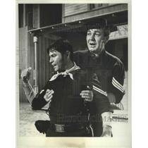 1965 Press Photo F Troop on ABC with Forrest Tucker & Larry Storch - lfx04468
