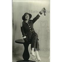 1925 Press Photo Ms Irene McSwain California Raisin Day Queen in 1915
