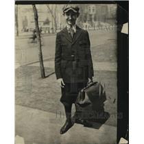 1918 Press Photo Mauford Haskell of Boys Brotherhood Republic - ney25280