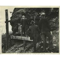 1929 Press Photo Unknown Coal Miners - ney25465
