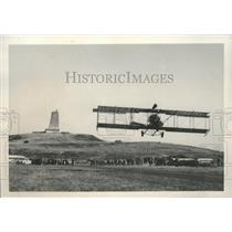 1955 Press Photo 1912 model pusher-type plane at Kitty Hawk, North Carolina